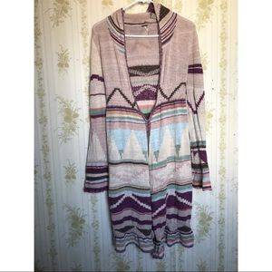 Free People Lima Pueblo Yarn Cardigan
